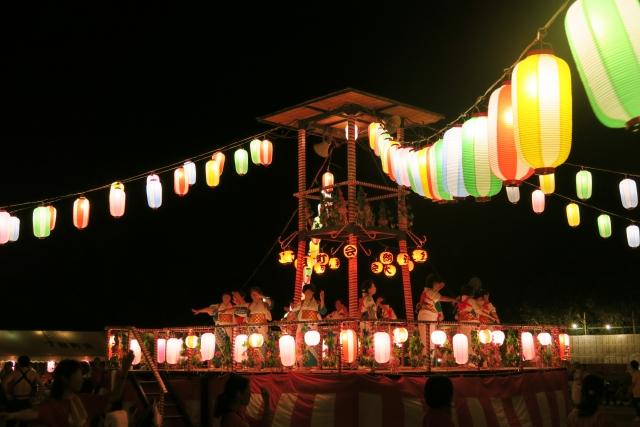 松戸駐屯地盆踊り2019