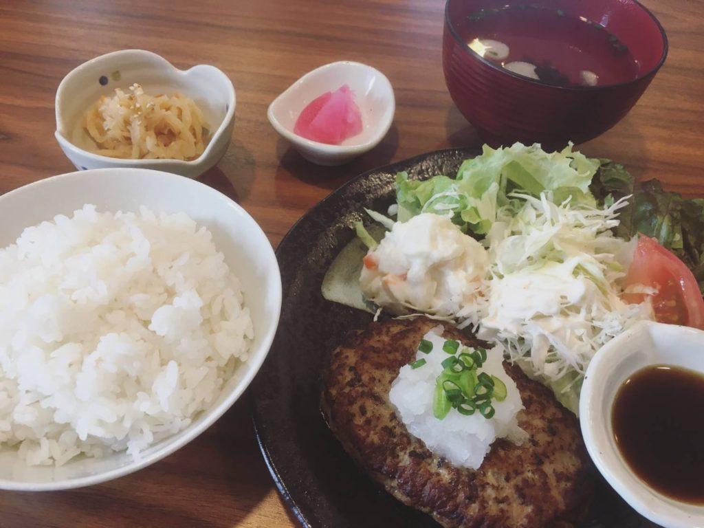 定食ハンバーグ大漁丼家松戸稔台