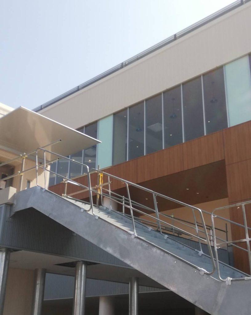 テラスモール松戸階段