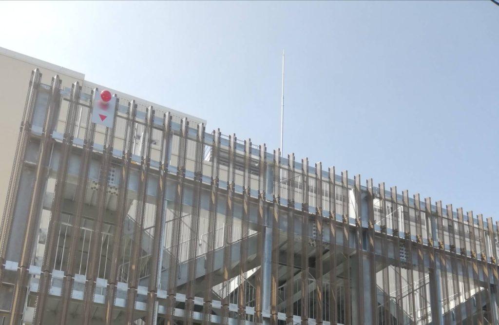 テラスモール松戸八ヶ崎階段