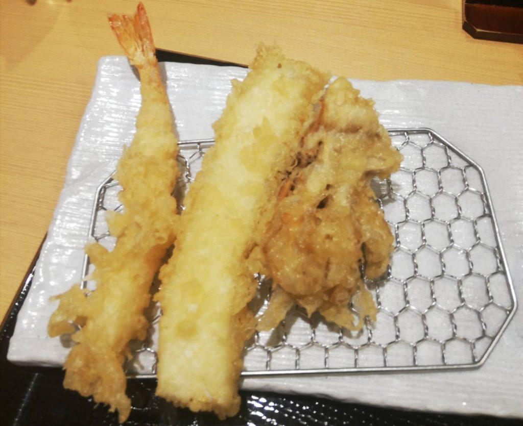 天ぷらカウンターまきの
