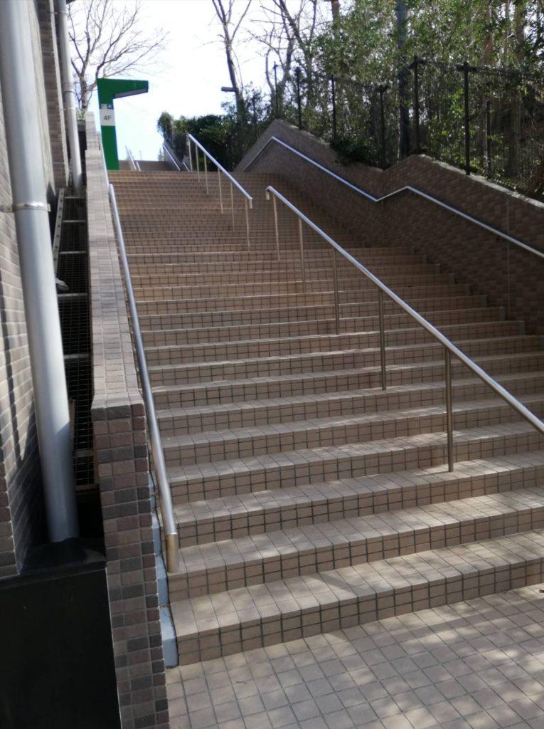 松戸中央公園階段
