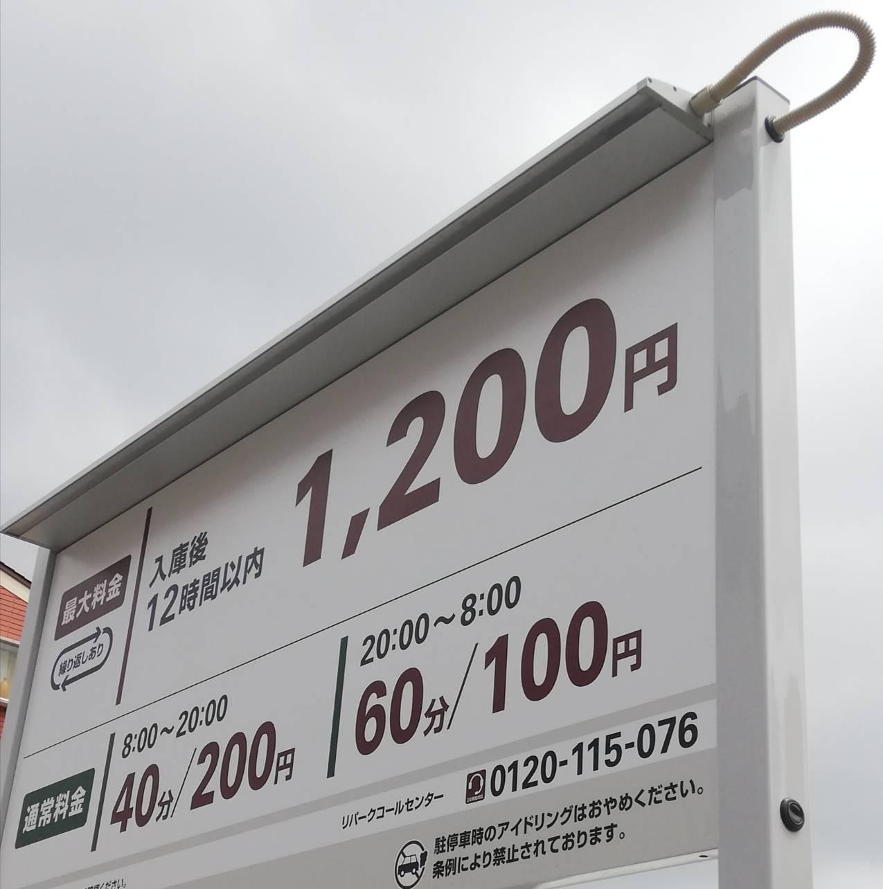 松戸税務署駐車場