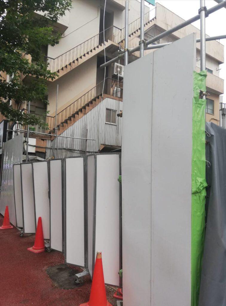 北松戸駅前ビル解体
