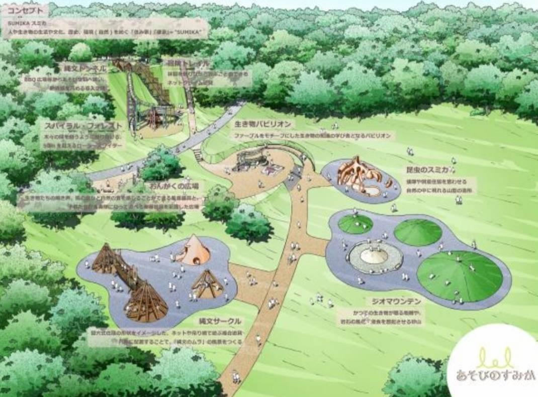 あそびのすみか21世紀の森と広場遊具
