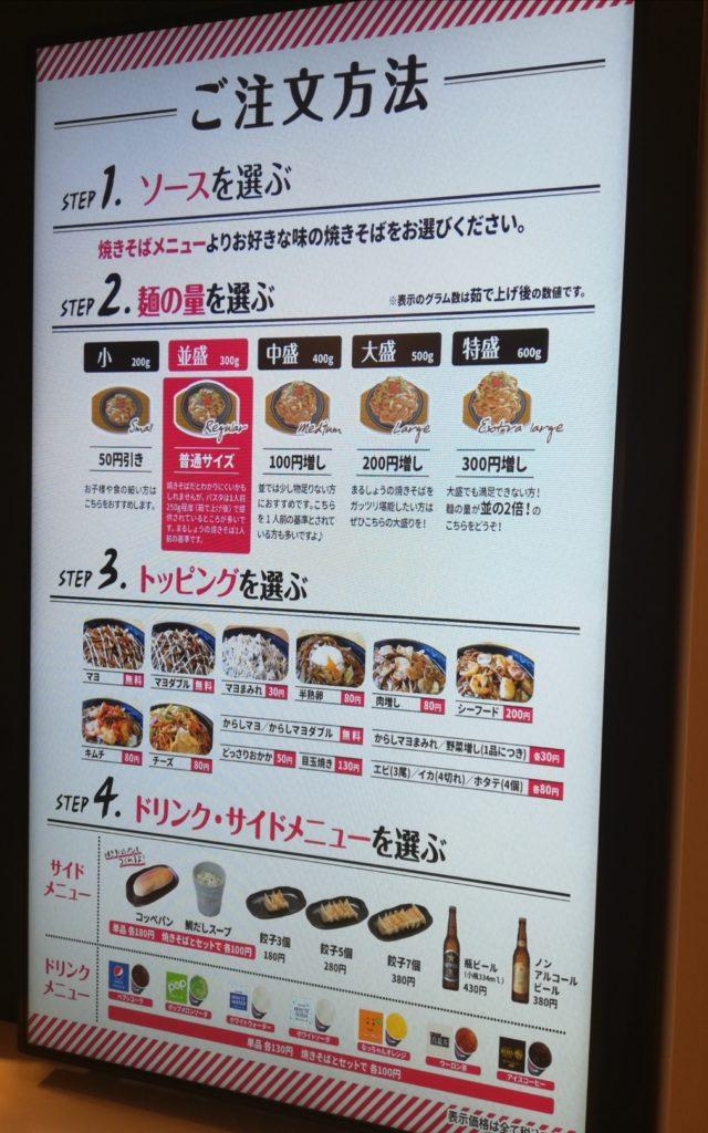 焼きそばまるしょう松戸店イトーヨーカドーオープン