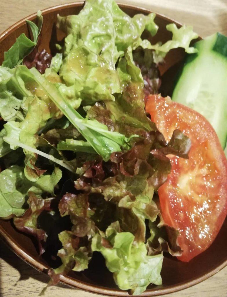 サラダ定食ランチキテミテマツド