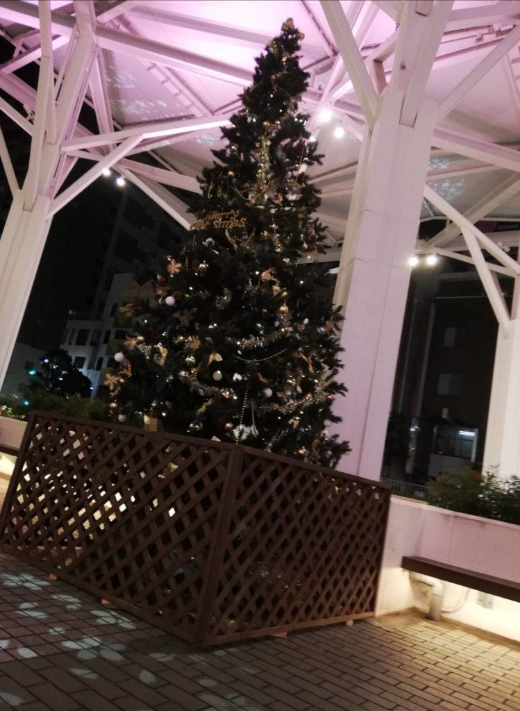 キテミテマツド2020クリスマスツリー