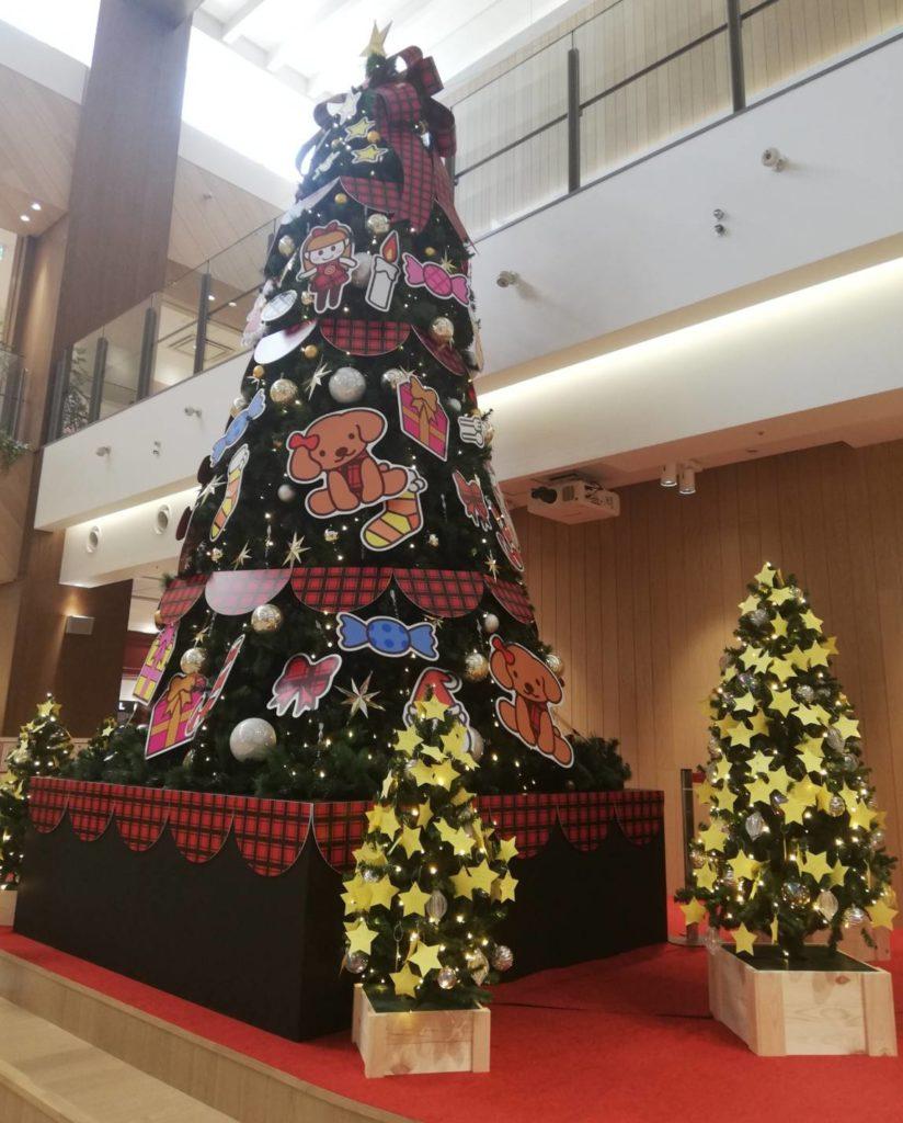 テラスモール松戸クリスマスツリー2020