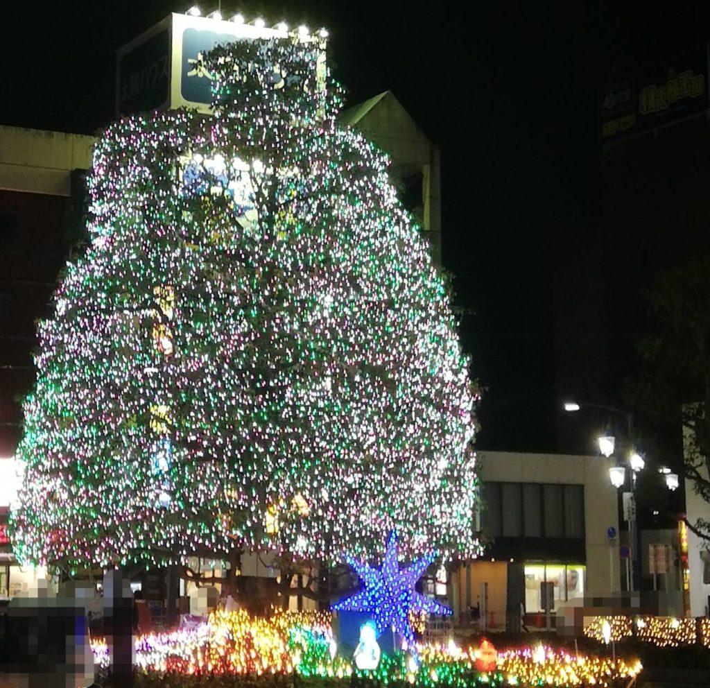 新松戸駅前イルミネーション2020年から2021年