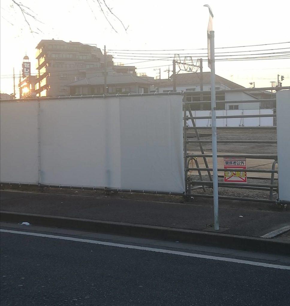 ヨークフーズ松戸八柱店建設