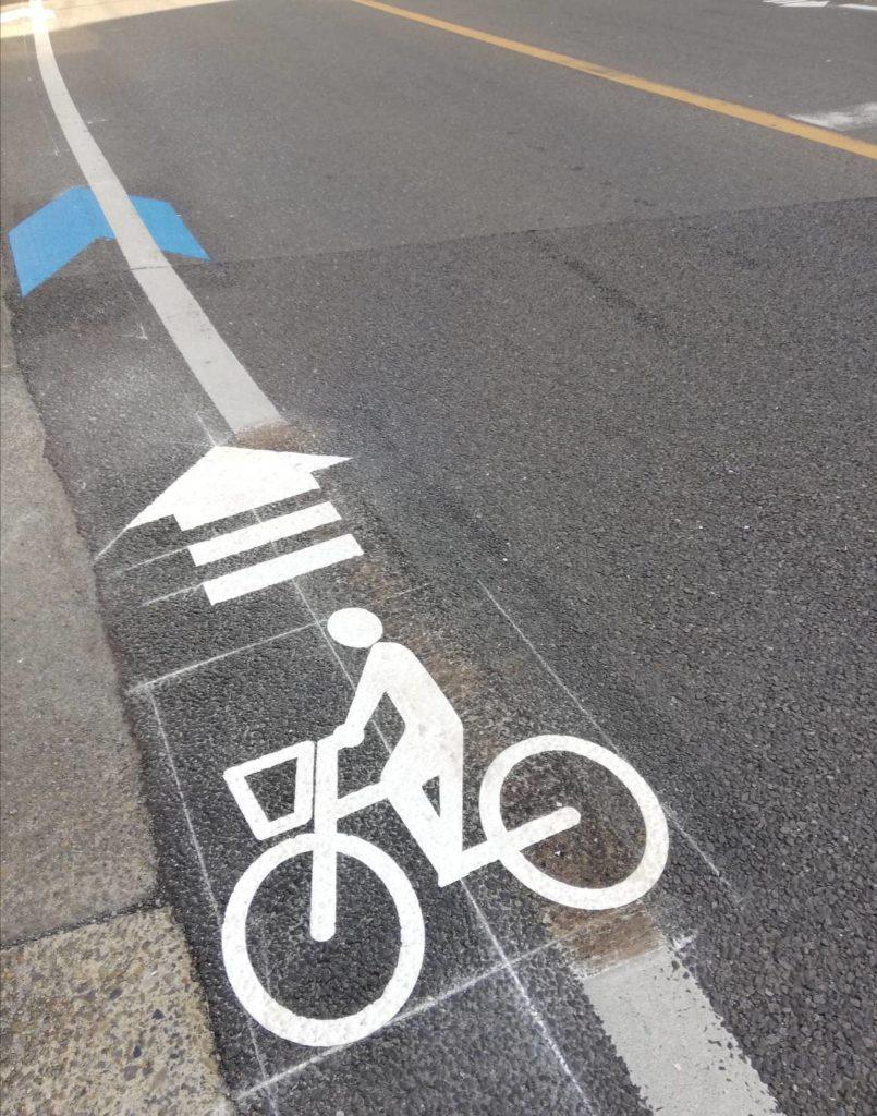 自転車ナビマーク北松戸