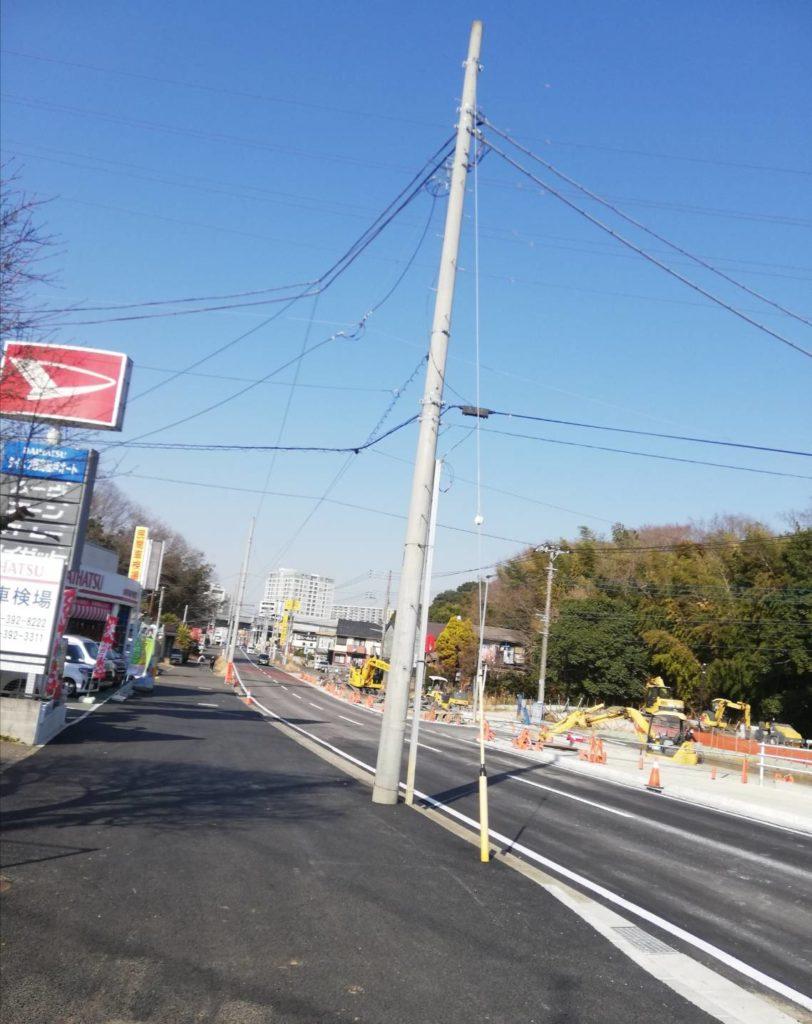 松戸道路計画市川柏線新設道路