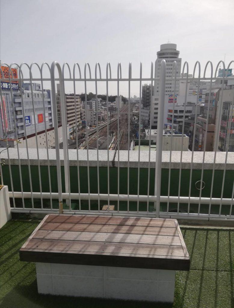 屋上景観景色アトレ松戸