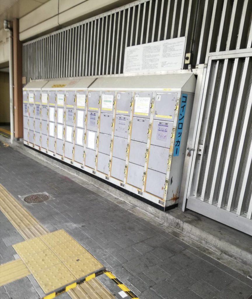 コインロッカー松戸駅西口アトレ松戸新駅ビル改良工事