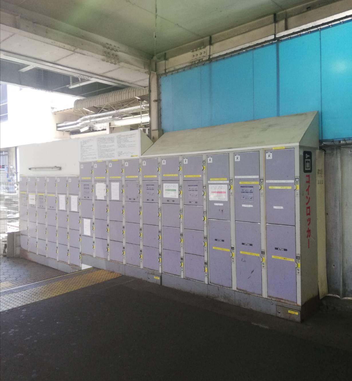 松戸駅東口コインロッカー松戸駅改良工事