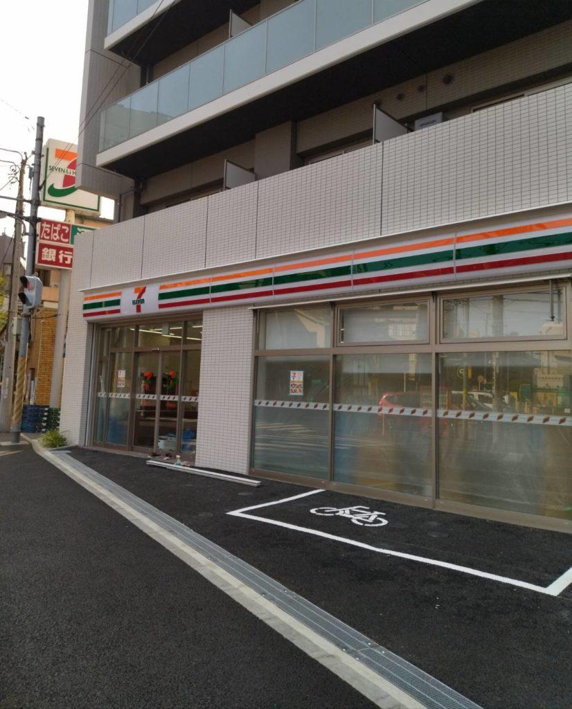 セブンイレブン松戸駅東口店オープン松戸駅前