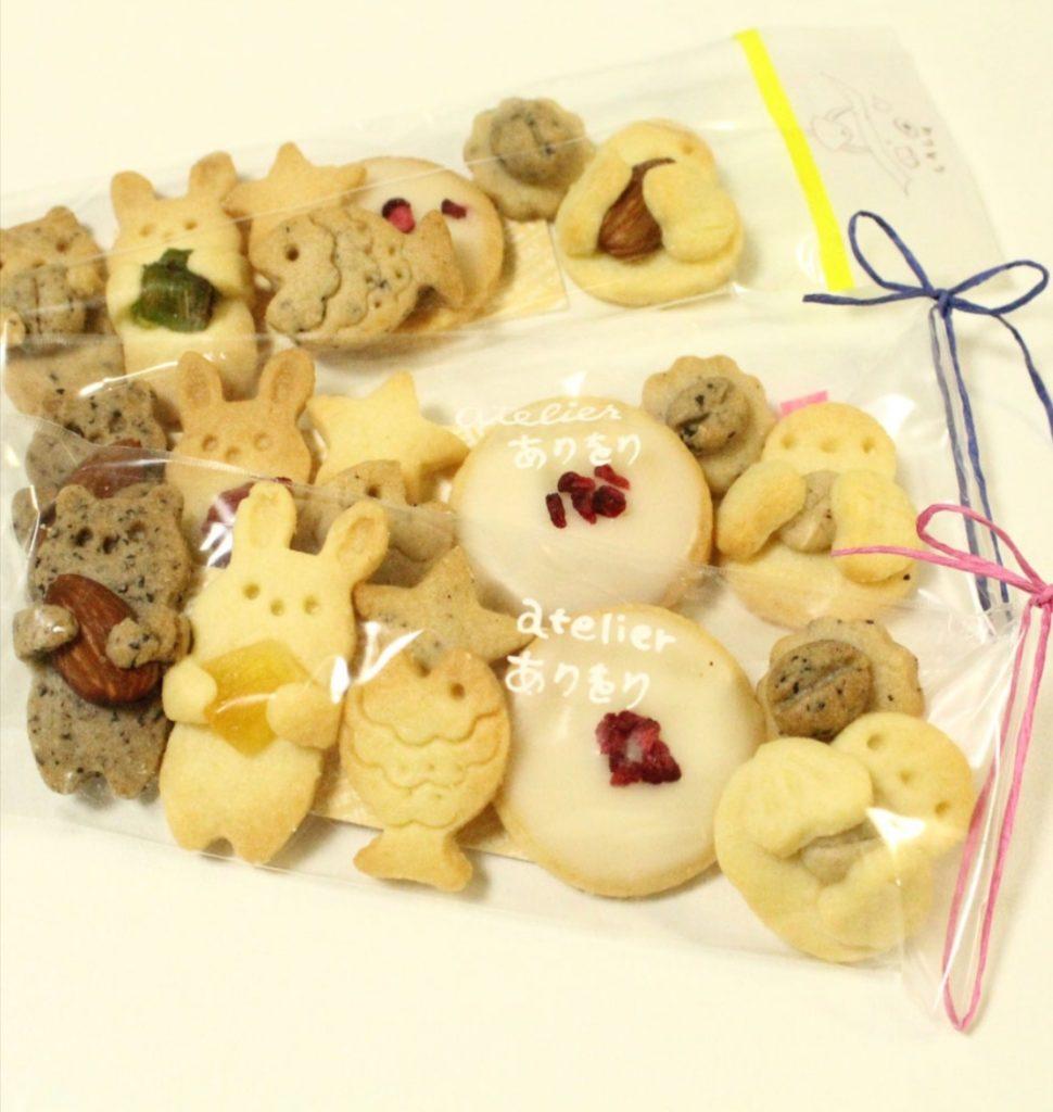 atelier ありをりプリンス徳川カフェセットクッキー