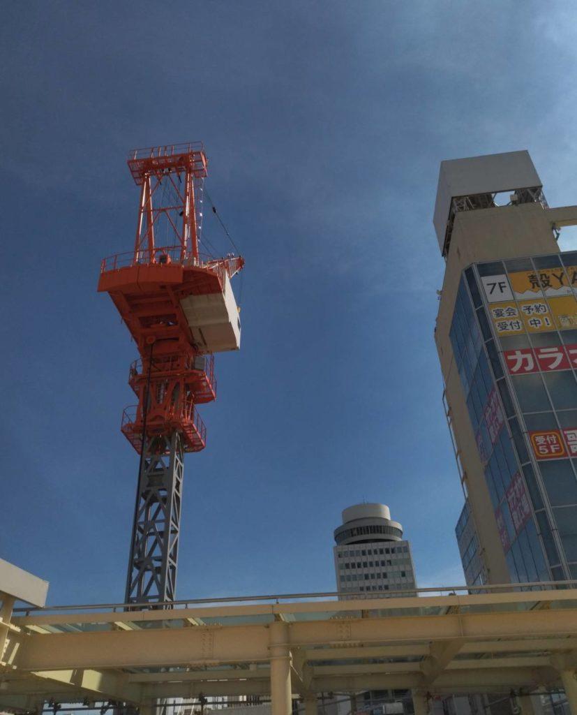 西口側松戸駅ビル建設9月