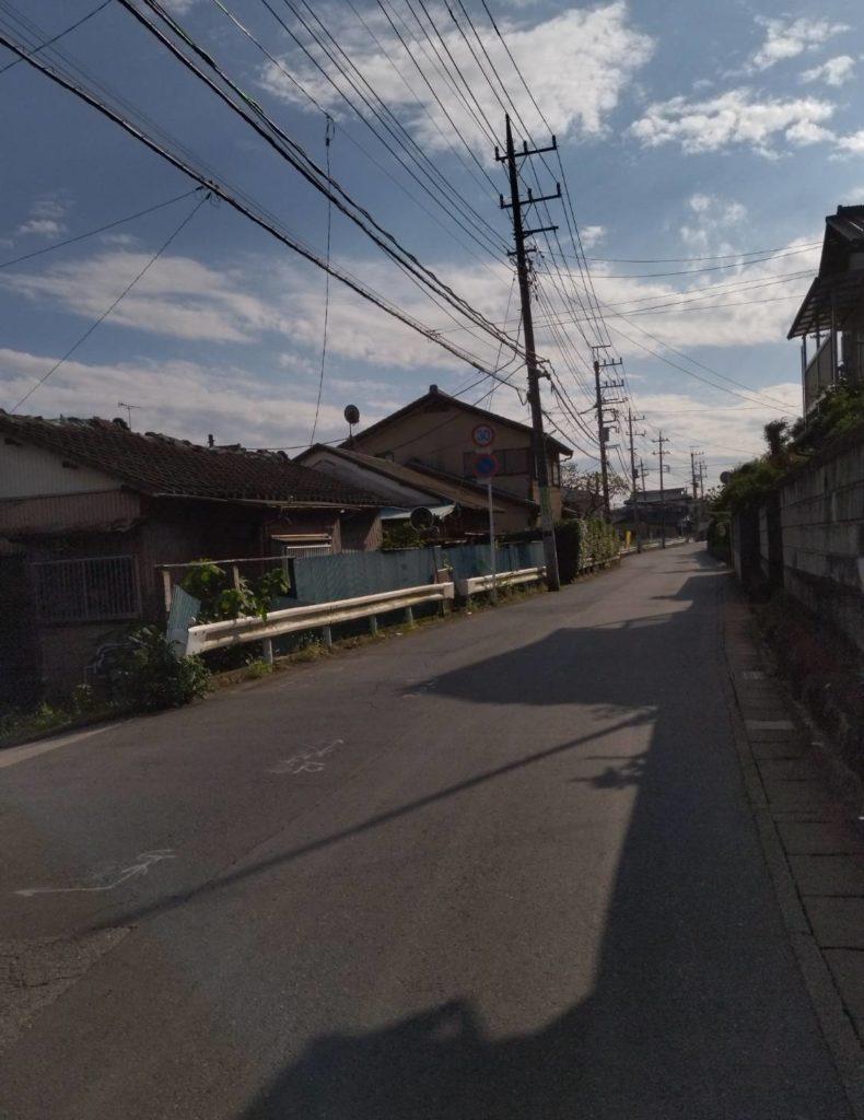 松戸市大橋道路工事