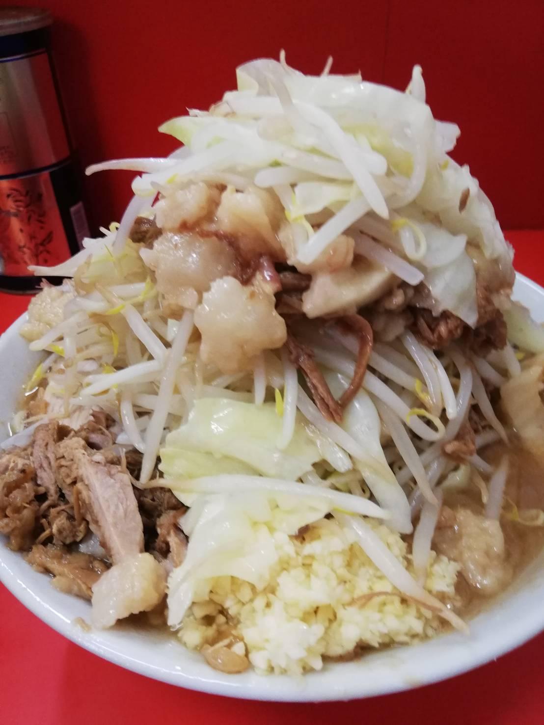 ラーメン二郎松戸店麺変更