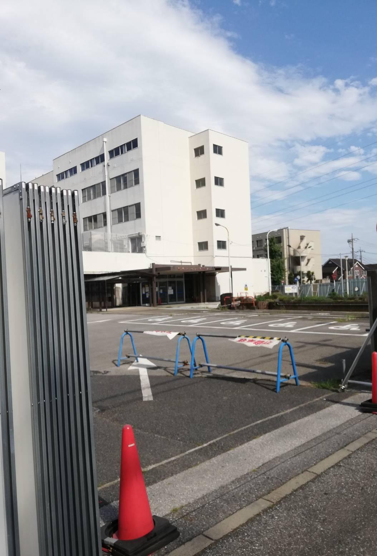 松戸市立病院跡地解体