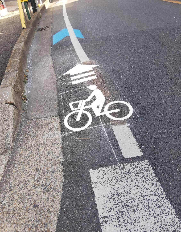 北松戸自転車ナビラインとうかえで通り