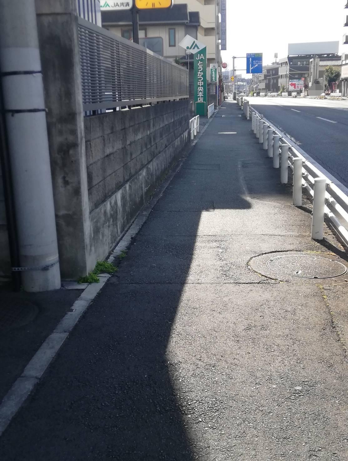 JAとうかつ中央本店北松戸国道6号水戸街道沿い